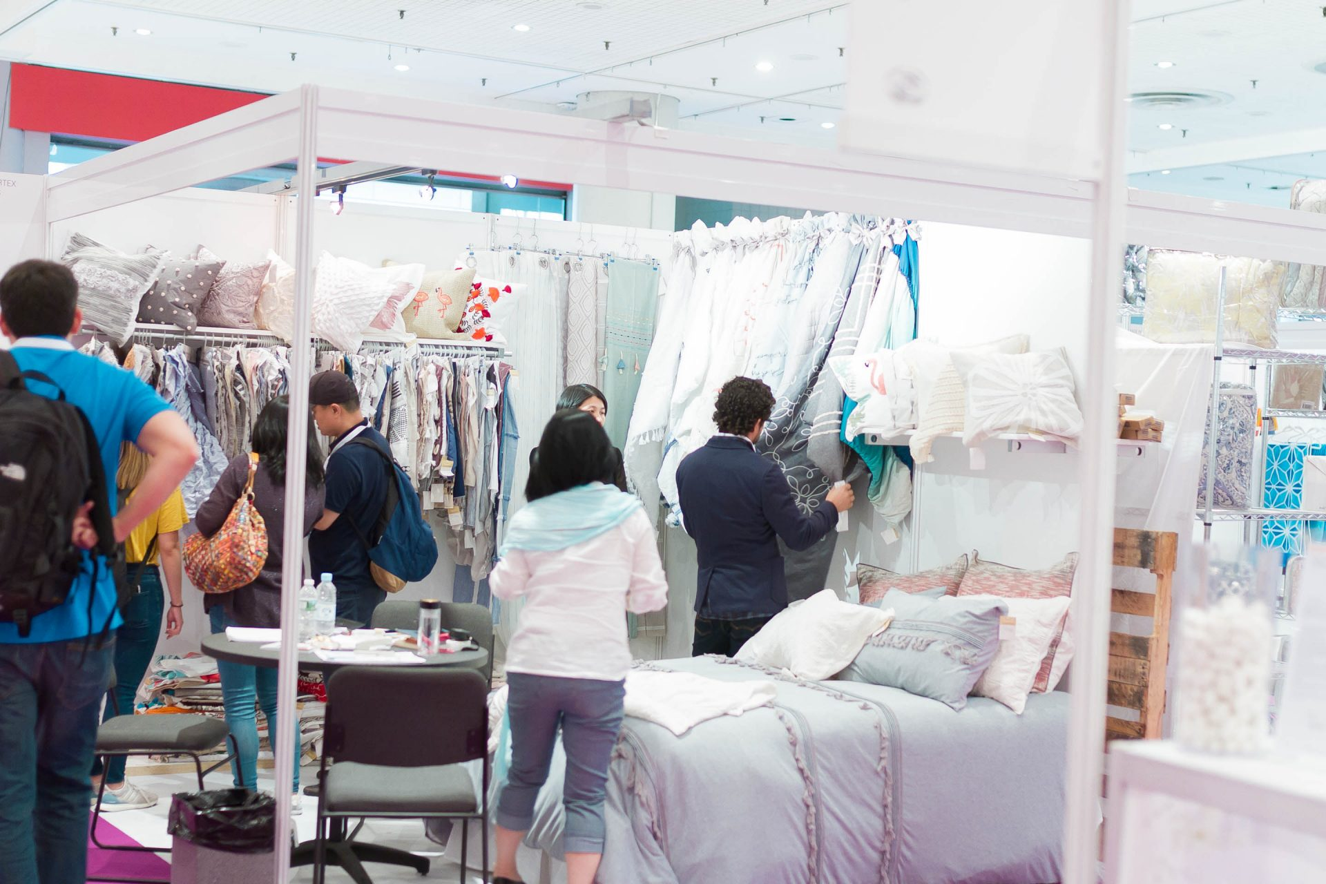 Thousands of buyers, retailers and manufacturers have the opportunity to examine and explore