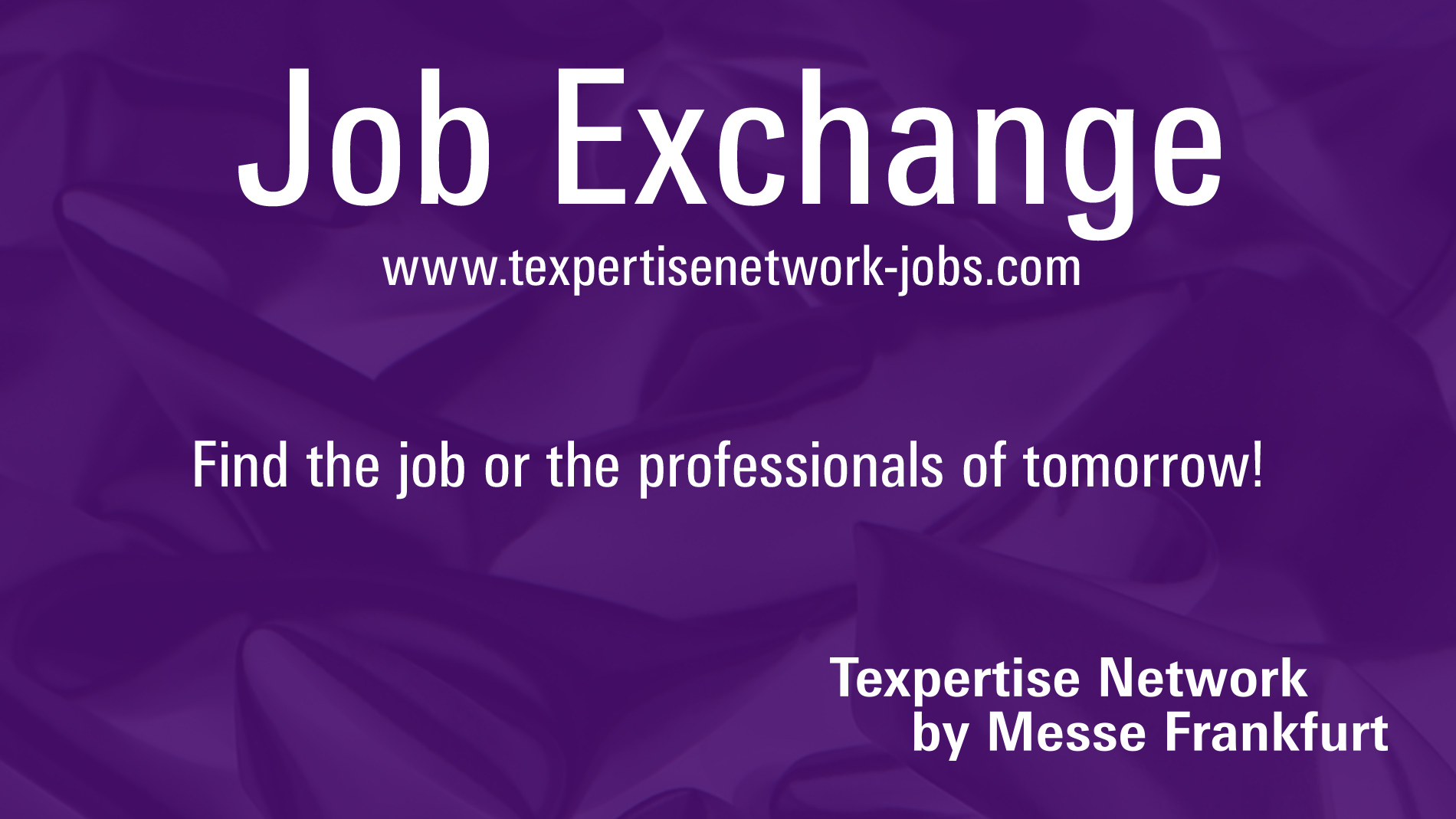 Keyvisual Job Exchange Texpertise Network