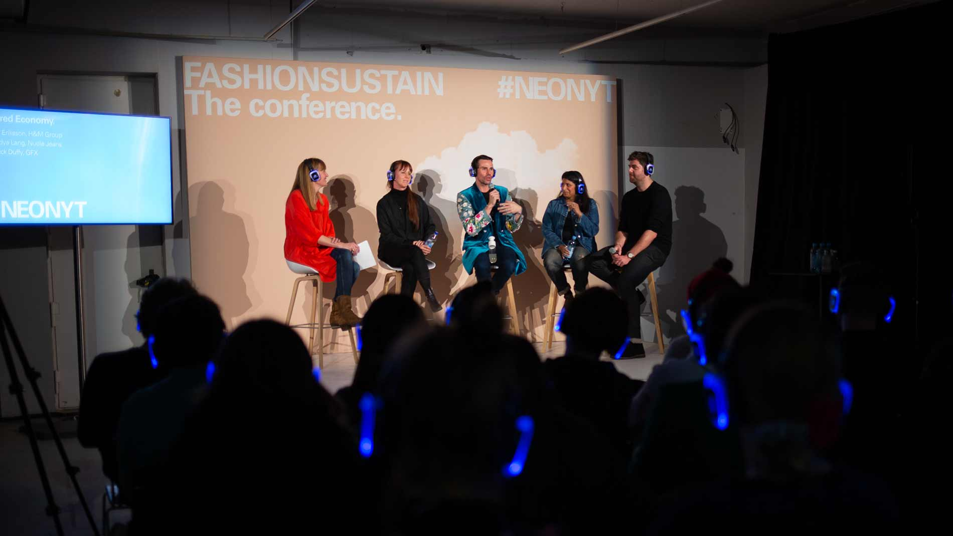 Speakers at Neonyt's conference format Fashionsustain