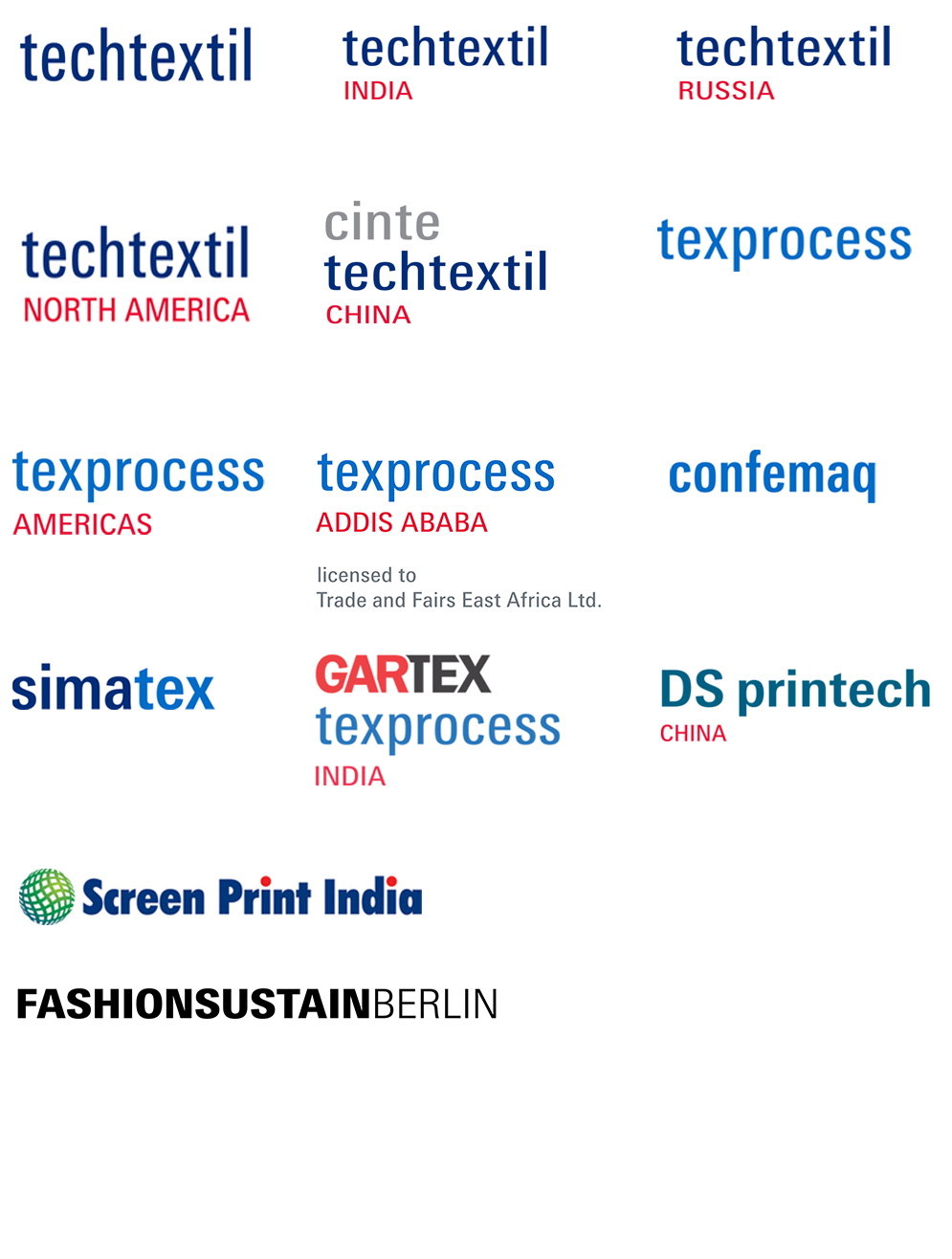 All technical textiles exhibitions