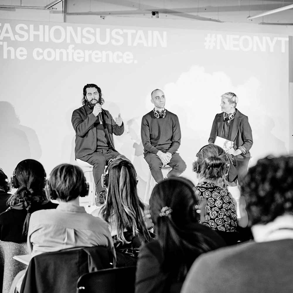 Fifty times Fashionsustain is sustainability
