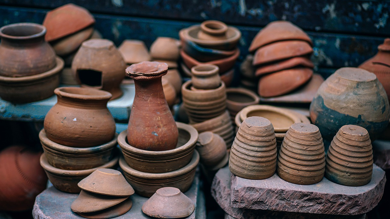 Traditional handicrafts from India