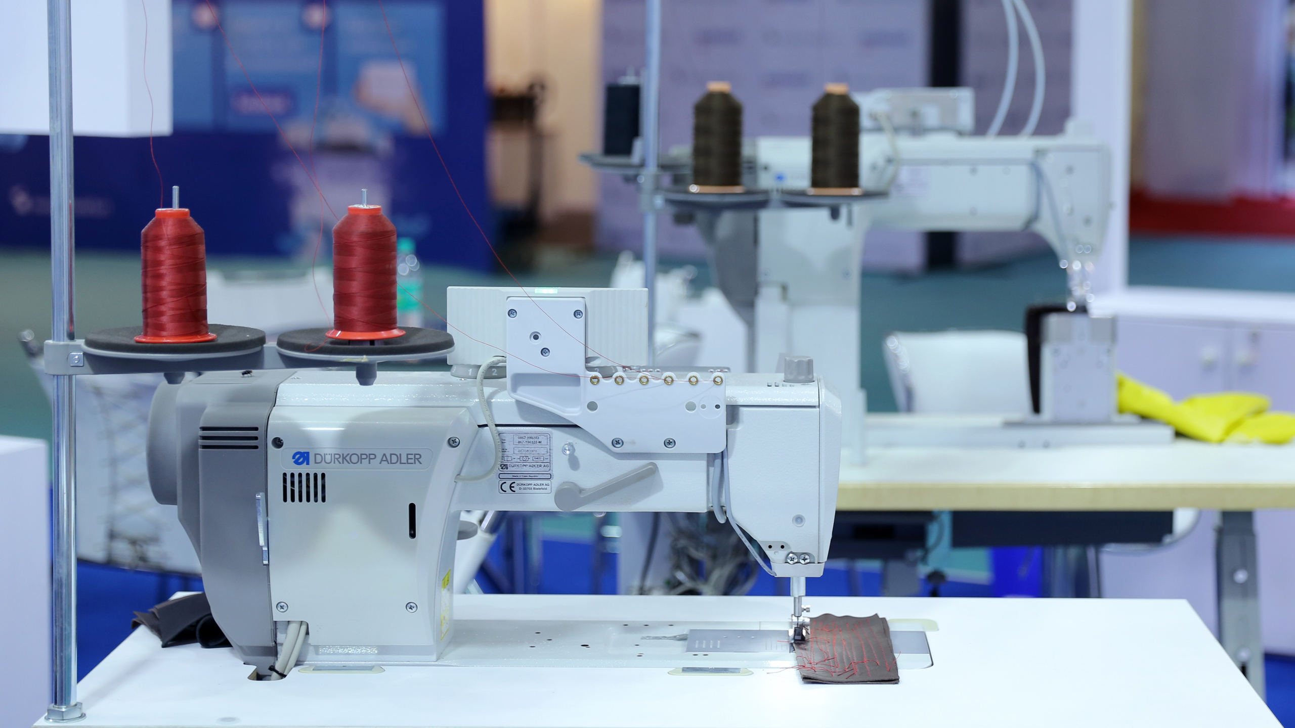 Textile production in India
